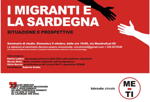 I migranti e la Sardegna – Gli appunti della presentazione